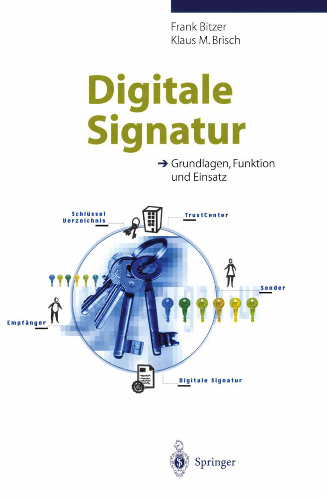 Digitale Signatur als Buch (kartoniert)