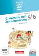 Alles klar! Deutsch. Sekundarstufe I 5./6. Schuljahr. Grammatik und Zeichensetzung. Inkl.CD-ROM