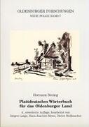 Plattdeutsches Wörterbuch für das Oldenburger Land