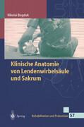 Klinische Anatomie von Lendenwirbelsäule und Sakrum