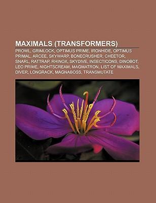 Maximals (Transformers) als Taschenbuch