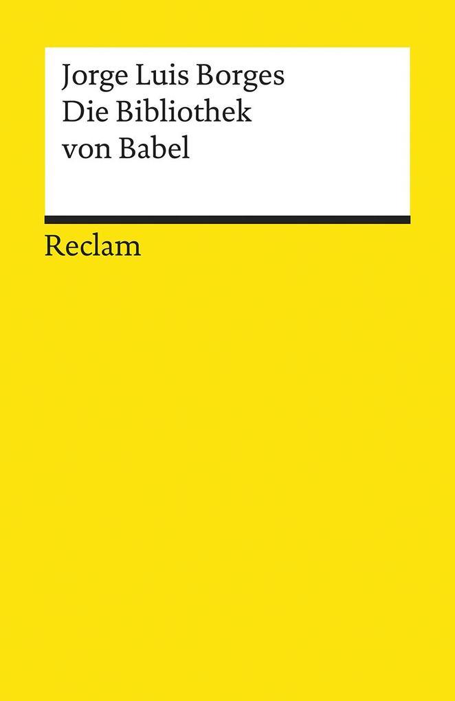 Die Bibliothek von Babel als Taschenbuch