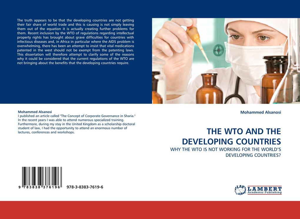 THE WTO AND THE DEVELOPING COUNTRIES als Buch (kartoniert)