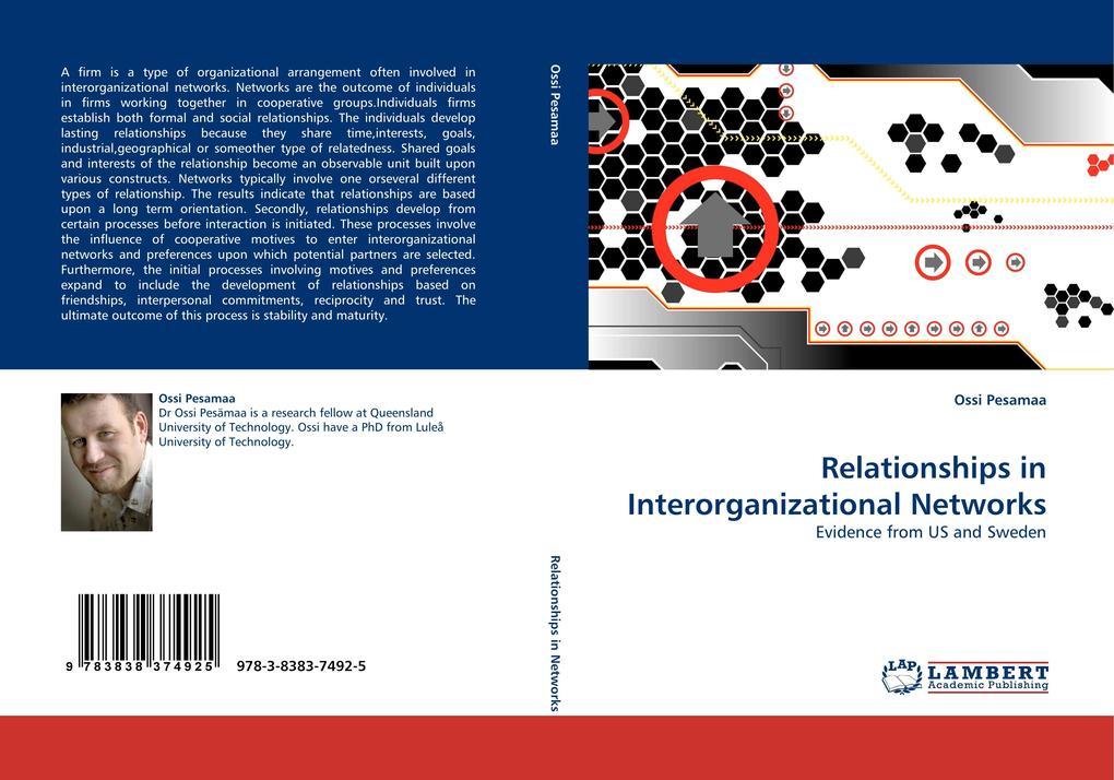 Relationships in Interorganizational Networks als Buch (kartoniert)