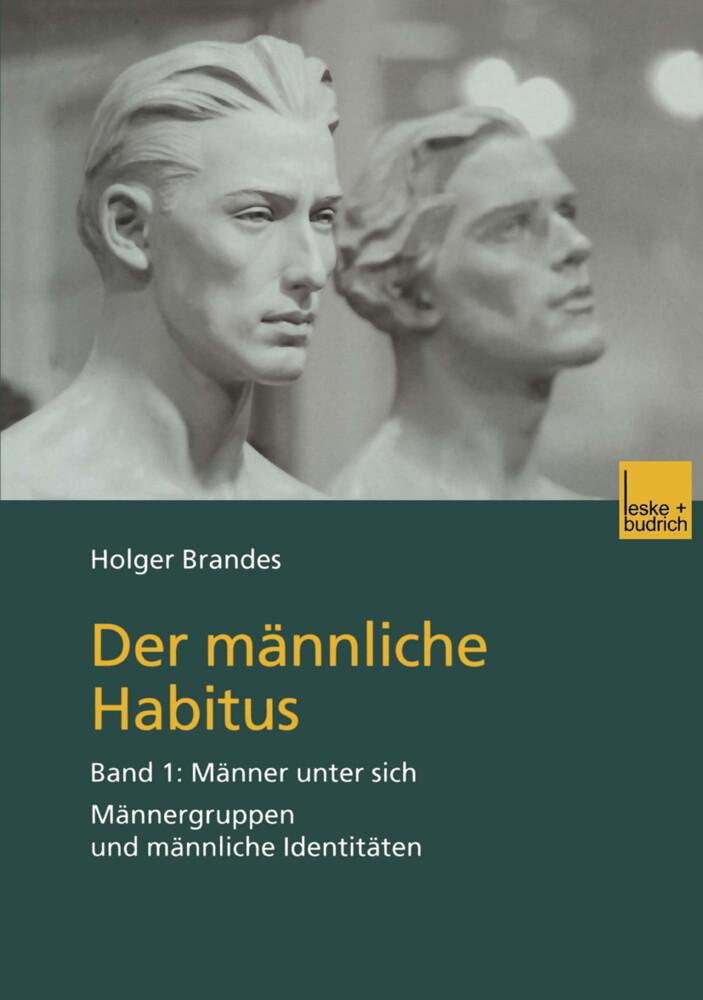 Der männliche Habitus als Buch (kartoniert)