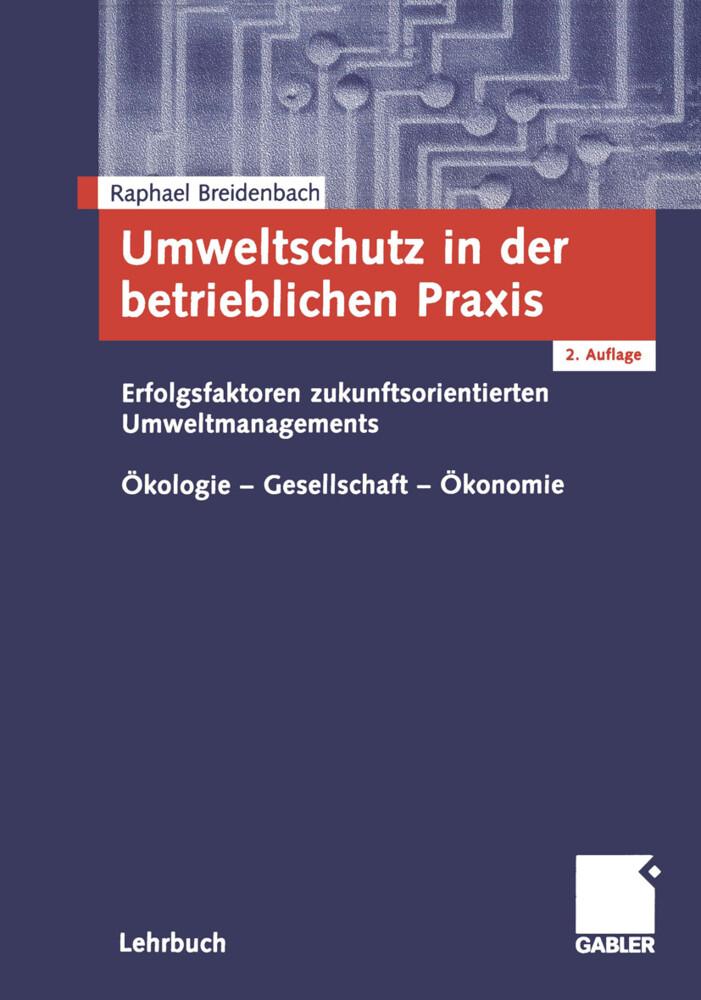 Umweltschutz in der betrieblichen Praxis als Buch (kartoniert)