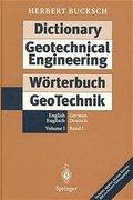 Dictionary Geotechnical Engineering / Wörterbuch GeoTechnik