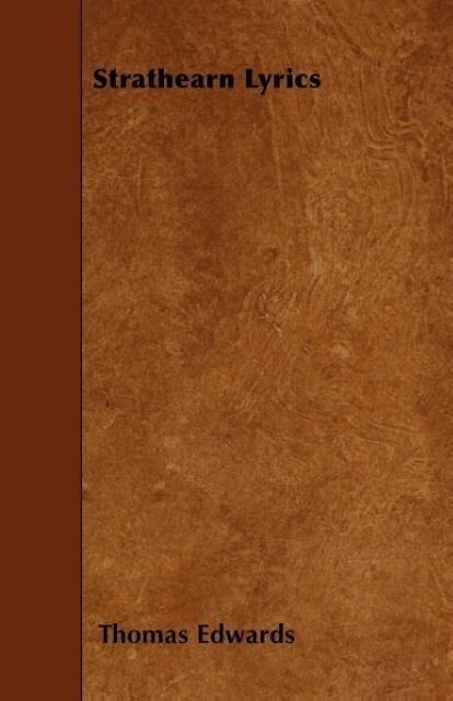 Strathearn Lyrics als Taschenbuch