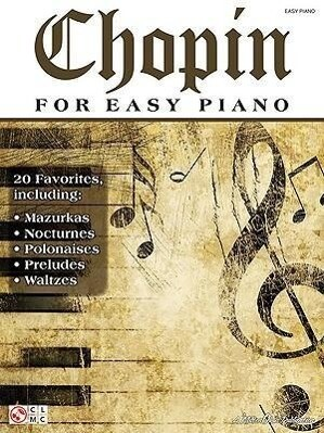 Chopin for Easy Piano als Taschenbuch