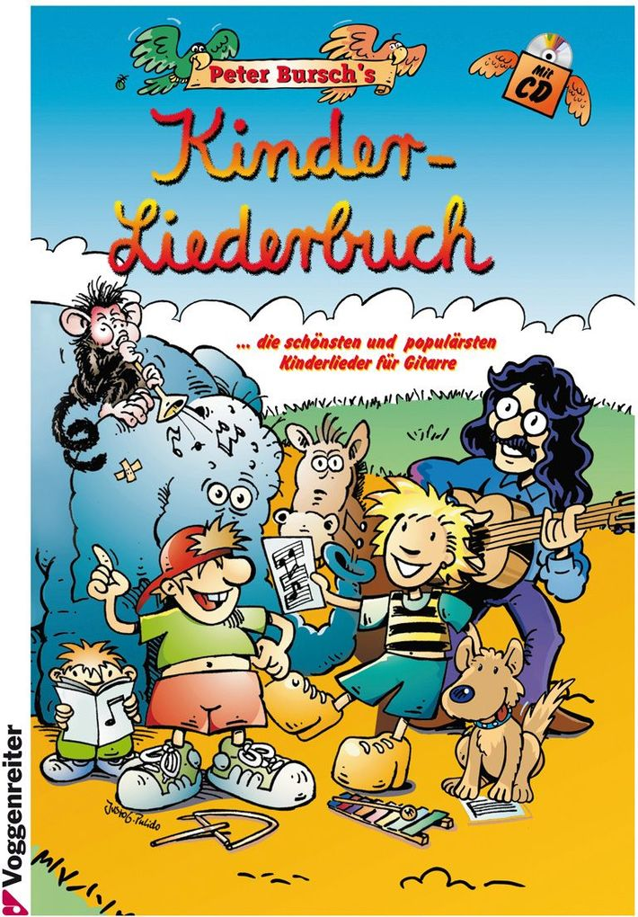 Peter Bursch's Kinder-Liederbuch als Buch (gebunden)