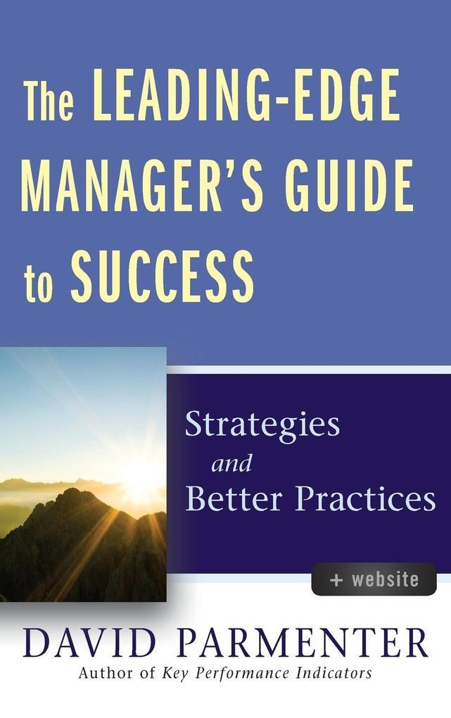 Leading-Edge Manager +website als Buch (gebunden)