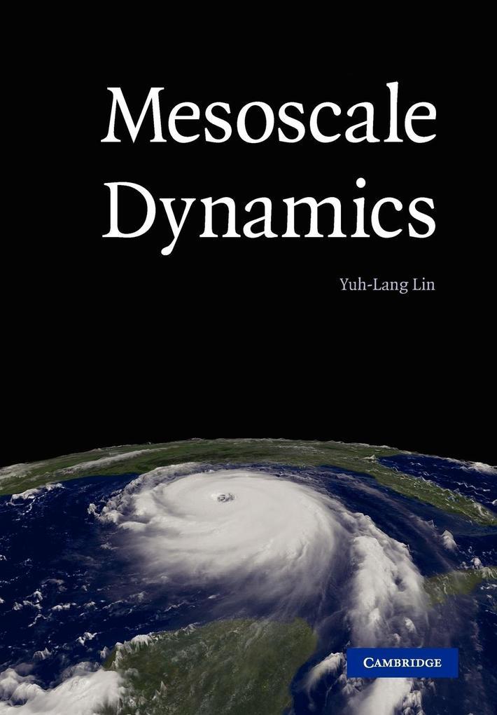 Mesoscale Dynamics als Taschenbuch