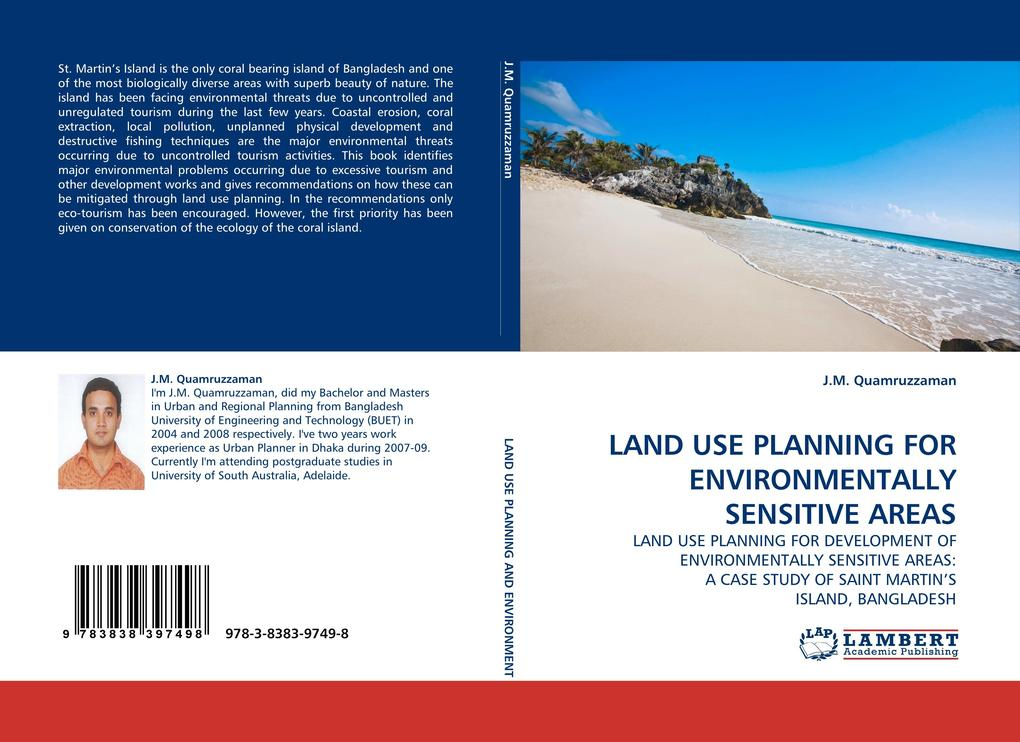 LAND USE PLANNING FOR ENVIRONMENTALLY SENSITIVE AREAS als Buch (gebunden)