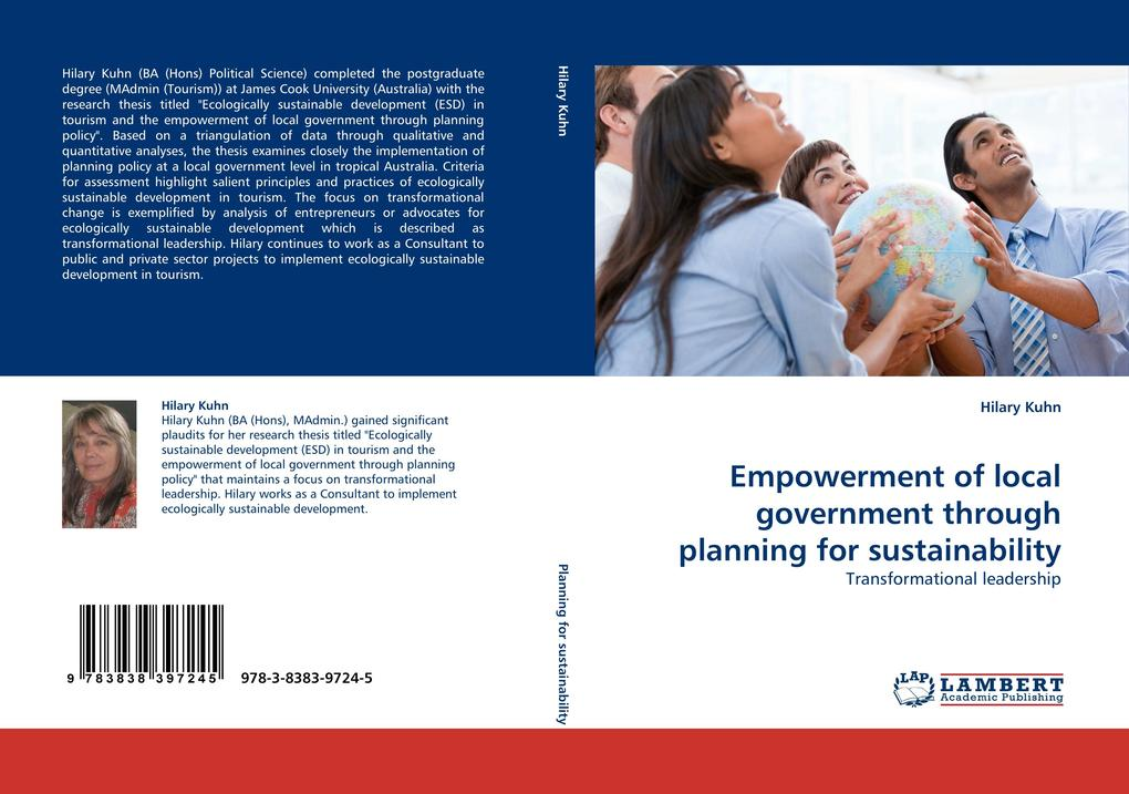Empowerment of local government through planning for sustainability als Buch (gebunden)