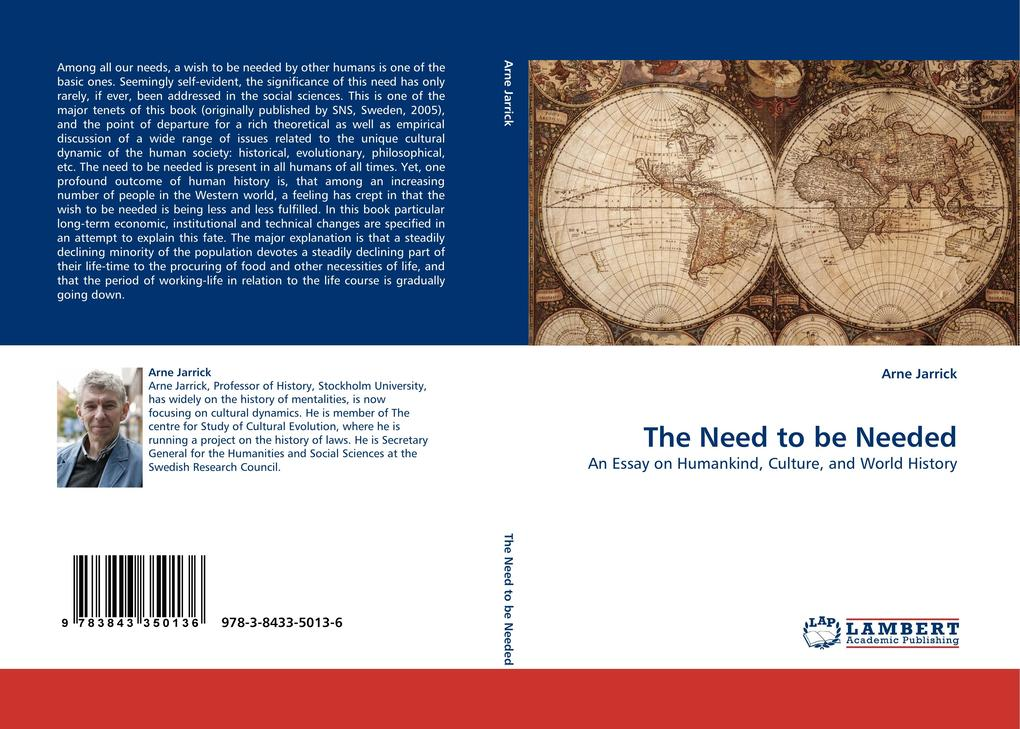 The Need to be Needed als Buch (kartoniert)