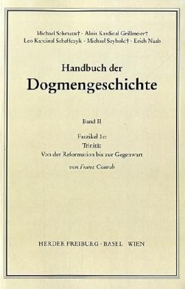 Handbuch der Dogmengeschichte II/1c als Buch (kartoniert)