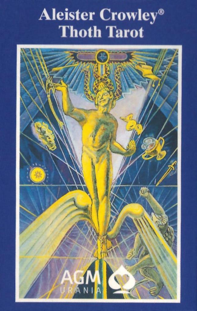 Original Aleister Crowley Thoth Tarot. De Luxe Ausgabe als Spielware