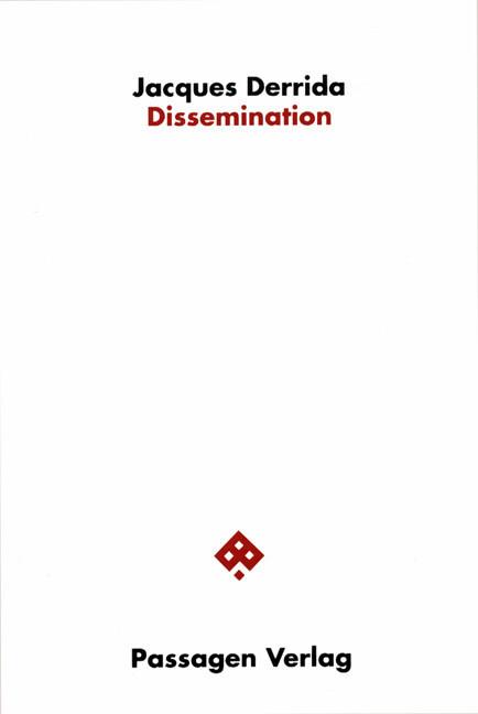 Dissemination als Buch (gebunden)