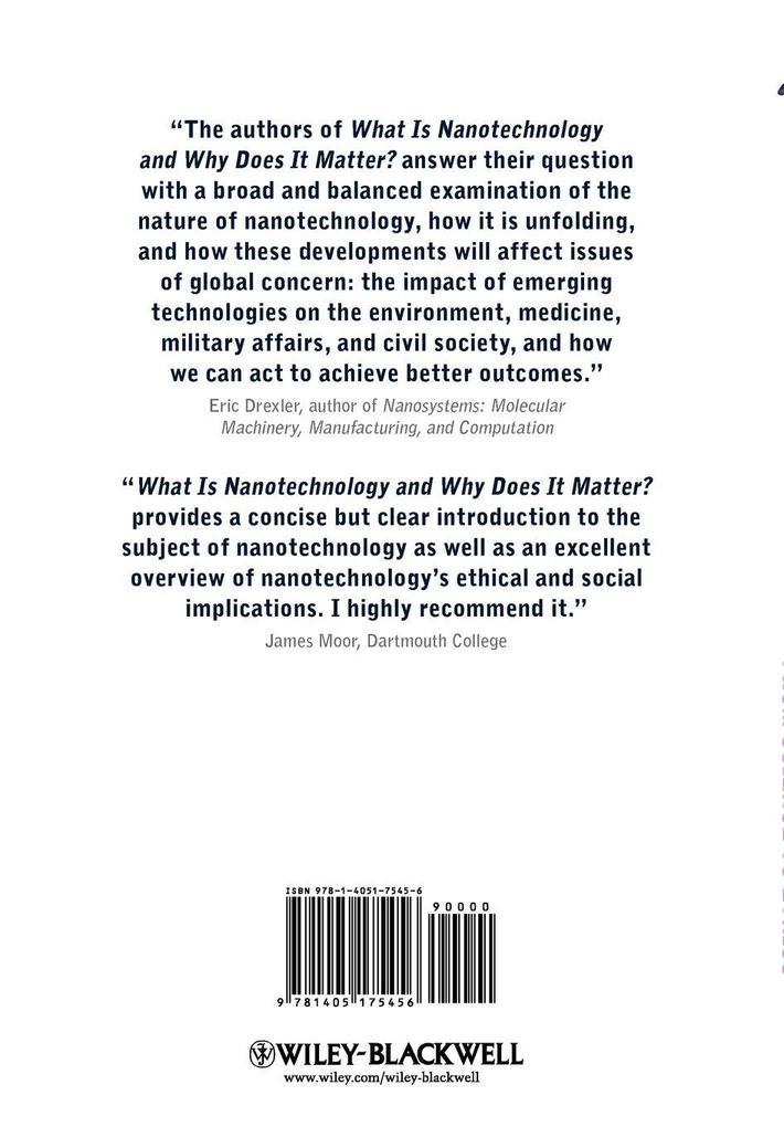 What Is Nanotechnology als Buch (gebunden)