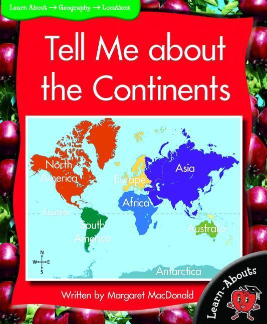 Tell Me about the Continents als Taschenbuch