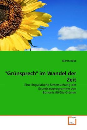 """Grünsprech"" im Wandel der Zeit als Buch (kartoniert)"