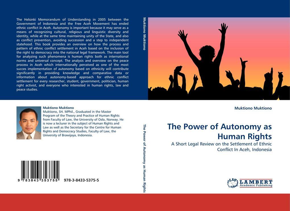The Power of Autonomy as Human Rights als Buch (kartoniert)