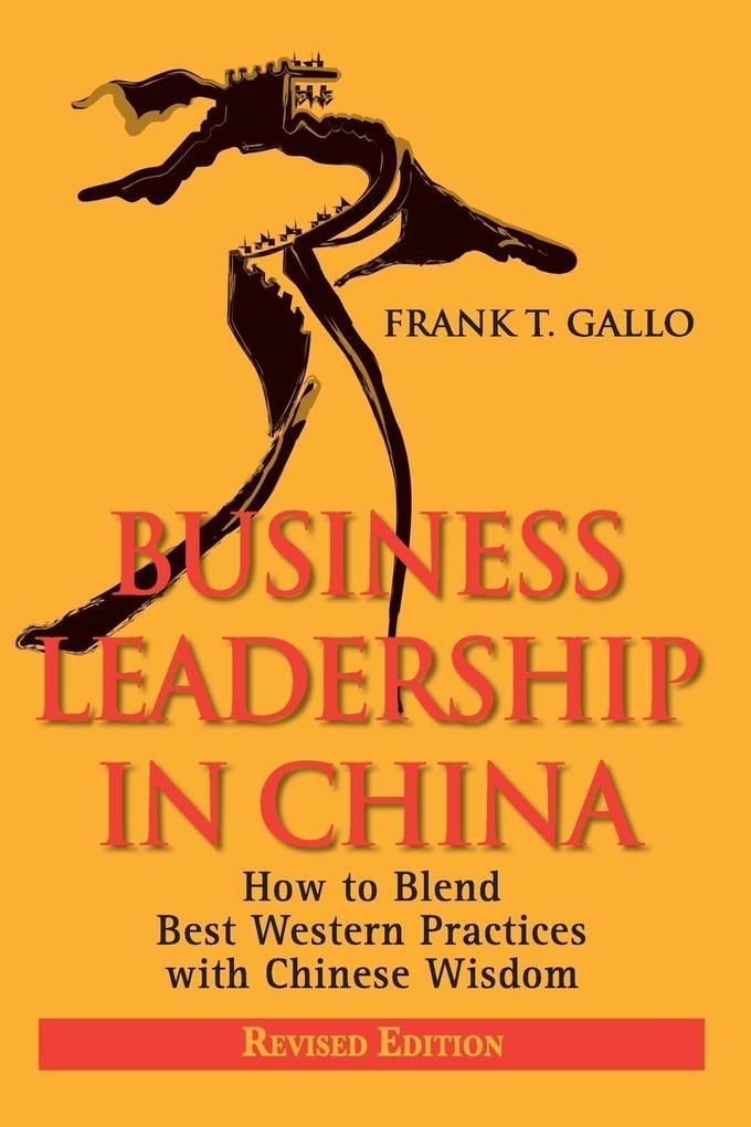 BUSINESS LEADERSHIP IN CHINA R als Taschenbuch