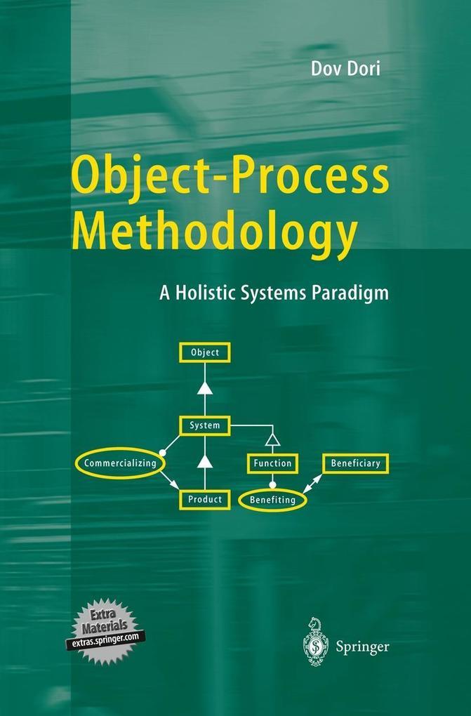 Object-Process Methodology, w. CD-ROM als Buch (gebunden)