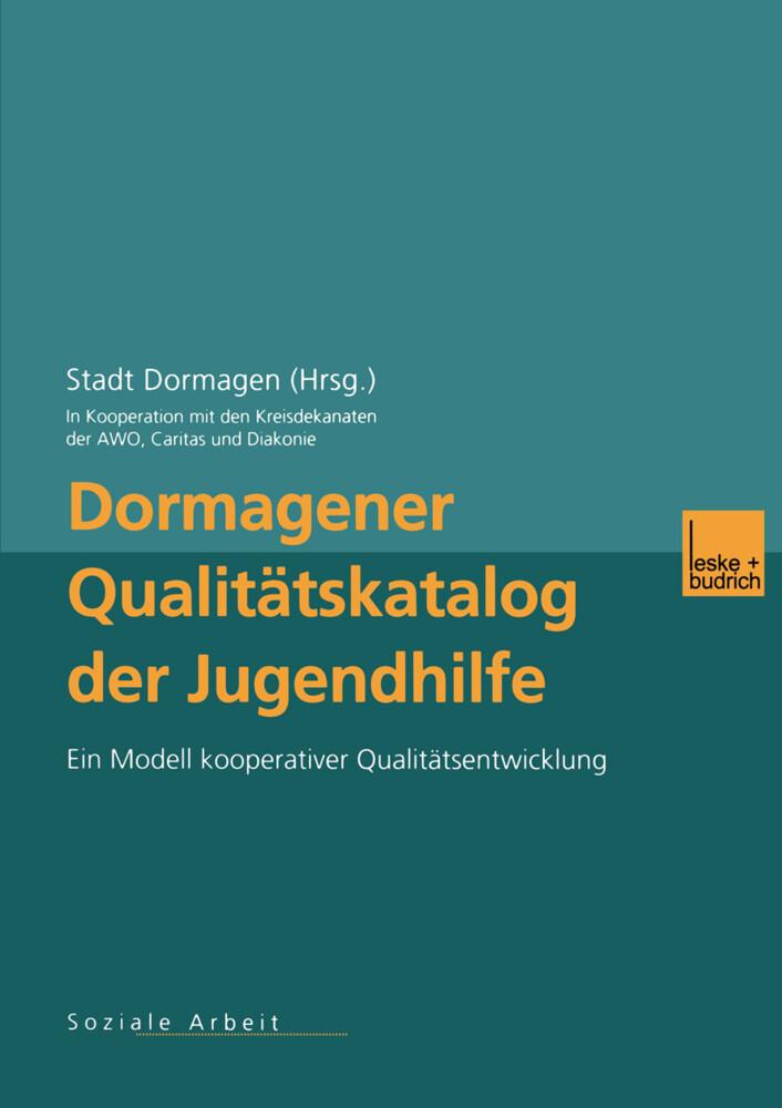 Dormagener Qualitätskatalog der Jugendhilfe als Buch (kartoniert)