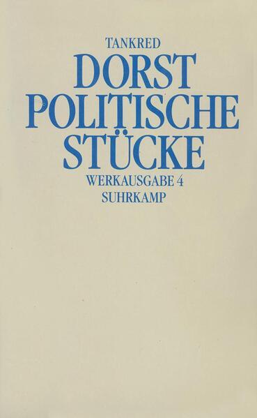 Politische Stücke als Buch (kartoniert)
