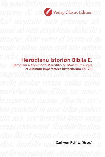 Herodianu istorion Biblia E. als Buch (gebunden)