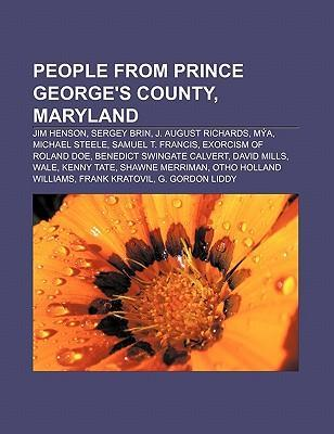People from Prince George's County, Maryland als Taschenbuch