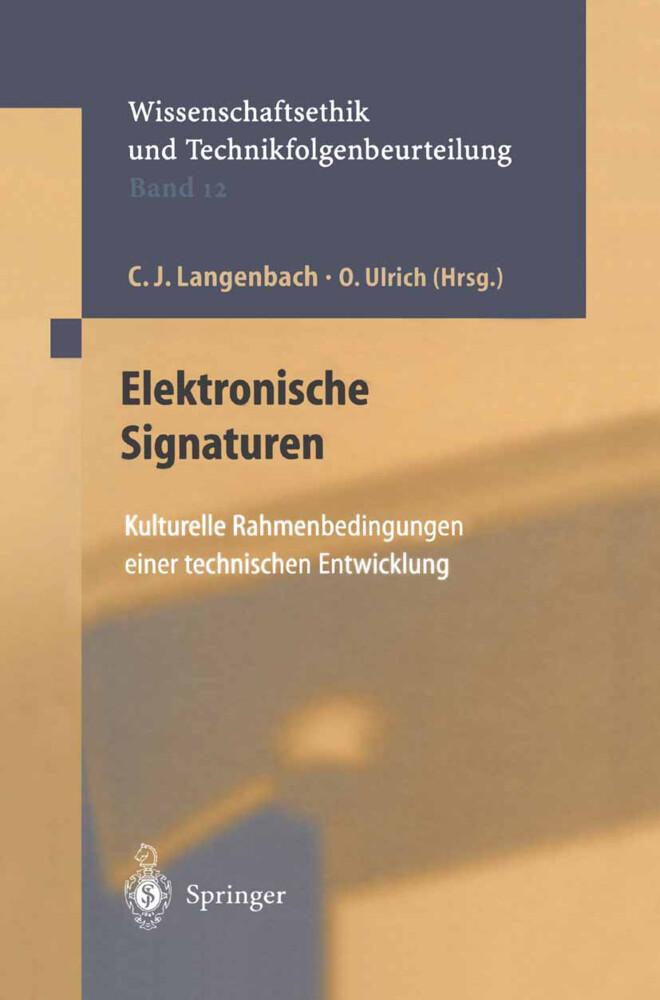 Elektronische Signaturen als Buch (gebunden)