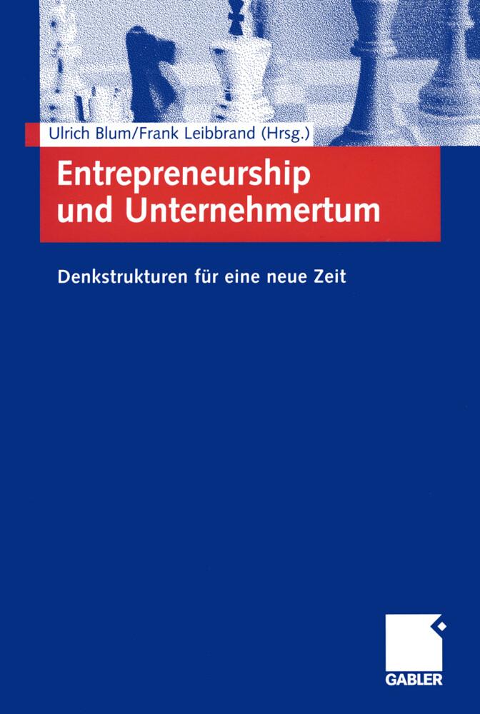 Entrepreneurship und Unternehmertum als Buch (kartoniert)