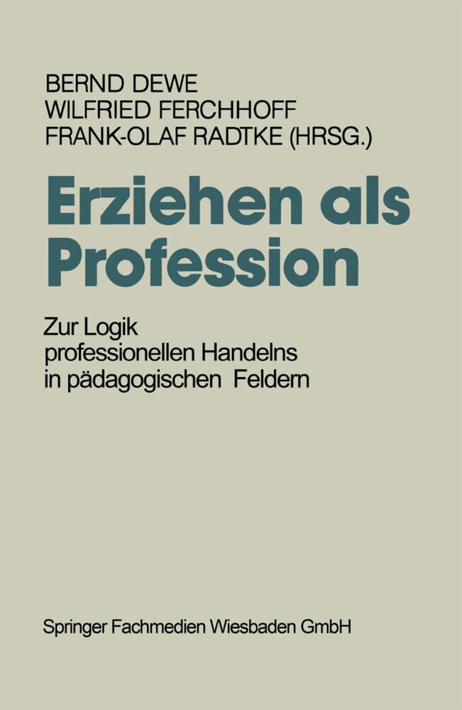 Erziehen als Profession als Buch (kartoniert)