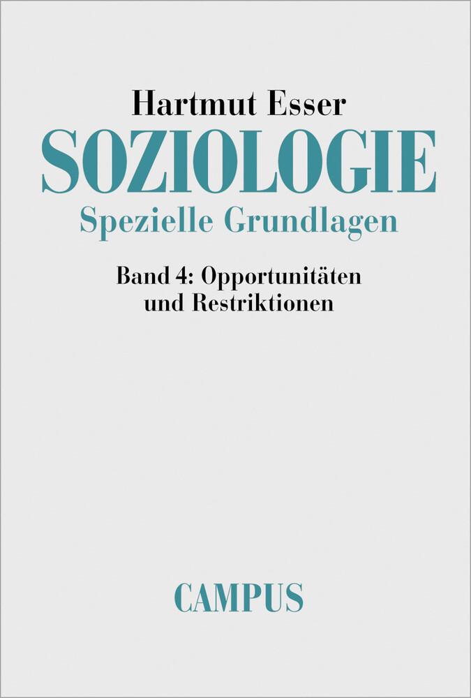 Soziologie. Spezielle Grundlagen als Buch (kartoniert)