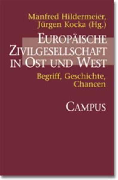 Europäische Zivilgesellschaft in Ost und West als Buch (kartoniert)
