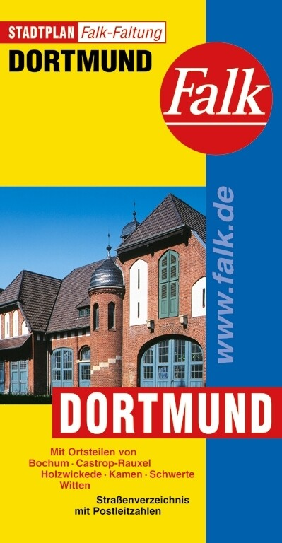 Falk Stadtplan Falkfaltung Dortmund 1: 25 000 als Blätter und Karten