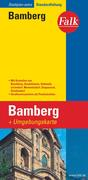 Falk Stadtplan Extra Standardfaltung Bamberg 1 : 15 000