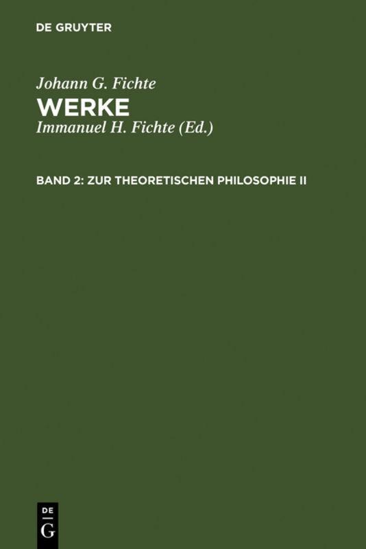 Zur theoretischen Philosophie II als Buch (gebunden)