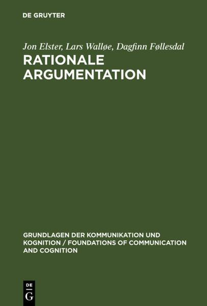 Rationale Argumentation als Buch (gebunden)