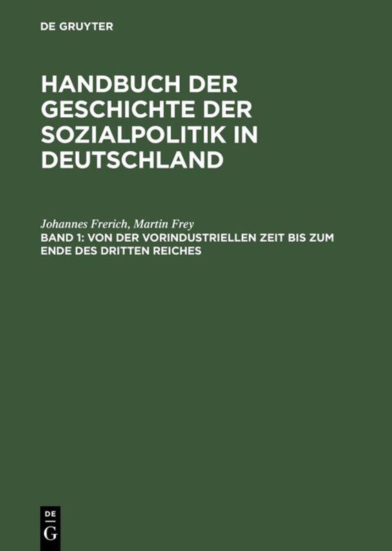 Von der vorindustriellen Zeit bis zum Ende des Dritten Reiches als Buch (gebunden)