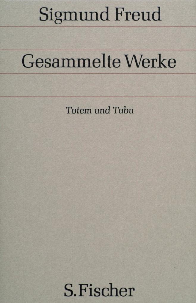Totem und Tabu als Buch (gebunden)