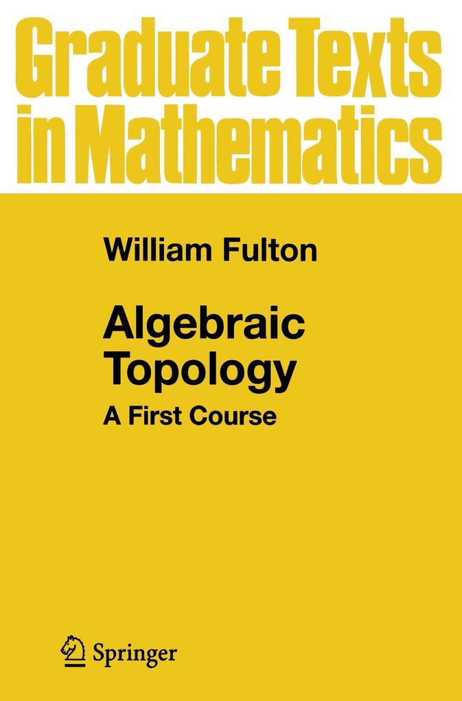 Algebraic Topology als Buch (kartoniert)