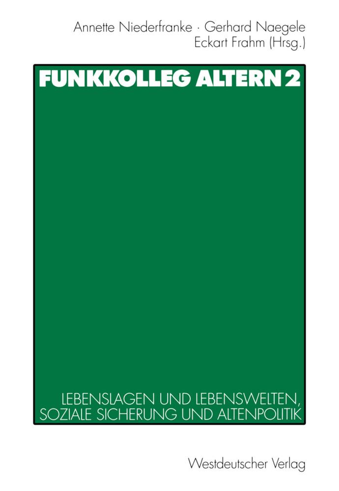 Funkkolleg Altern 2 als Buch (kartoniert)