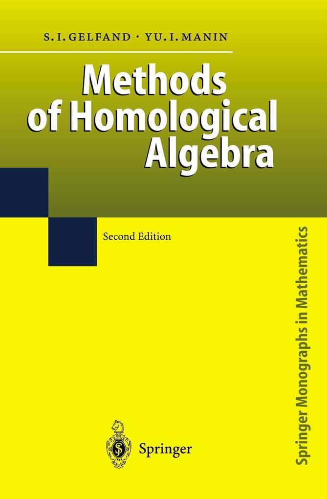 Methods of Homological Algebra als Buch (gebunden)