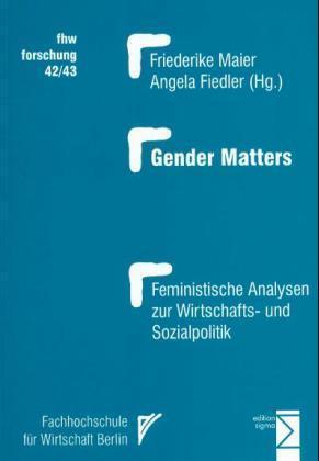 Gender Matters als Buch (kartoniert)