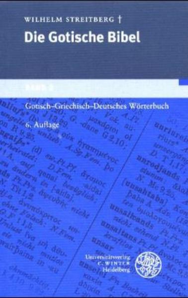Gotisch-Griechisch-Deutsches Wörterbuch als Buch (kartoniert)