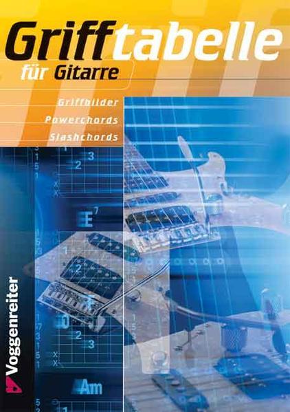 Grifftabelle für Gitarre als Buch (kartoniert)