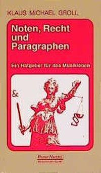 Noten, Recht und Paragraphen als Buch